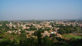 Панорамные взгляды  r Индии BihÄ Стоковые Изображения