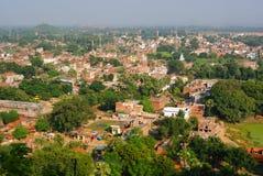 Панорамные взгляды  r Индии BihÄ Стоковые Фотографии RF