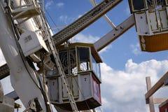 Панорамные колесо и кабины (ferris) Стоковая Фотография RF