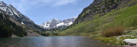 Панорамные Maroon колоколы, Колорадо Стоковое Изображение