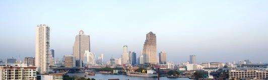 Панорамный взгляд Бангкок Стоковые Изображения