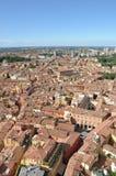 Панорамный взгляд болонья, Италии Стоковое Изображение