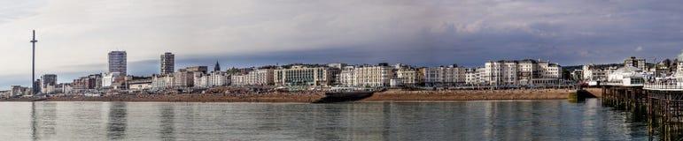 Панорамный взгляд Брайтона стоковая фотография