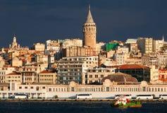 Панорамный взгляд города Стамбула Стоковая Фотография RF