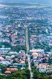 Панорамный взгляд Касселя, Германии Стоковые Изображения
