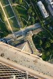 Панорамный взгляд Париж Стоковая Фотография RF