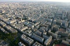 Панорамный взгляд Париж Стоковое Фото