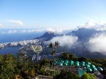 Панорамный взгляд Рио-де-Жанейро, Бразилии стоковое фото