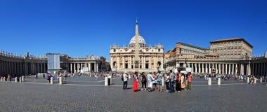 Панорамный взгляд собора Питер святой Стоковые Фотографии RF
