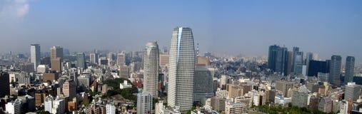 панорамный взгляд токио Стоковое Изображение RF