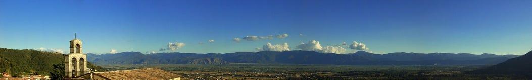 панорамный взгляд Стоковые Изображения