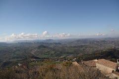панорамный взгляд Стоковое Изображение