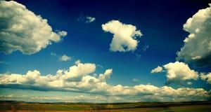 панорамный взгляд Стоковое Изображение RF