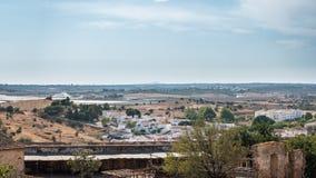 Панорамный взгляд Castro Marim Стоковая Фотография