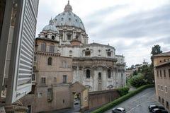 панорамный взгляд rome Стоковые Изображения RF