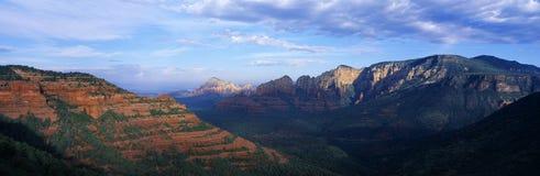 Панорамный взгляд Sedona Стоковые Изображения RF