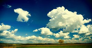 панорамный взгляд Стоковое Фото