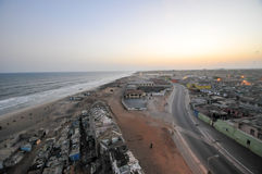 Панорамный взгляд Аккра, Ганы Стоковая Фотография RF