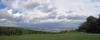 Панорамный взгляд вены Стоковые Фотографии RF