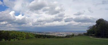 Панорамный взгляд вены Стоковые Фото