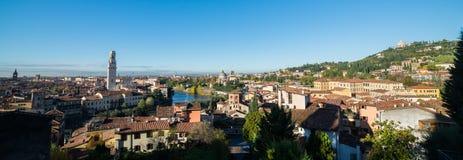 Панорамный взгляд Вероны Стоковая Фотография