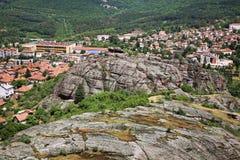 Панорамный взгляд в Belogradchik bulbed стоковая фотография