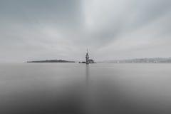 Панорамный взгляд девичьей башни ` s Стоковые Фото