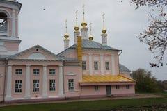 Панорамный взгляд захолустного городка Kimry в зоне Tver Стоковые Изображения