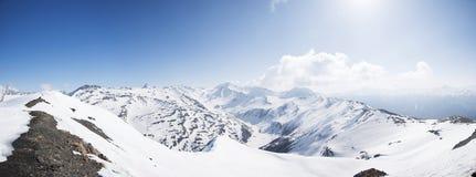 Панорамный взгляд итальянки Альпов Стоковые Изображения RF