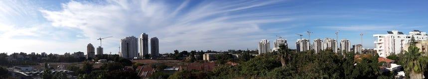 Панорамный взгляд моего домашнего взгляда Стоковое Изображение