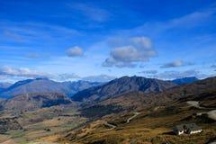 Панорамный взгляд, Новая Зеландия Стоковые Изображения