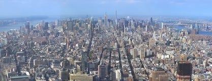 Панорамный взгляд Нью-Йорка Стоковое Фото