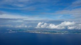 Панорамный взгляд острова Мальты Стоковые Изображения RF