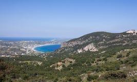 Панорамный взгляд острова Kos Стоковые Фотографии RF