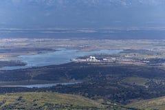панорамный взгляд долины Стоковые Фотографии RF