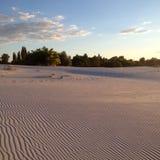 Панорамный взгляд пустыни Стоковые Изображения RF