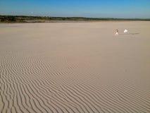 Панорамный взгляд пустыни Стоковое Изображение RF