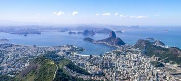 Панорамный взгляд Рио Стоковое Изображение