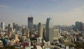 Город Токио стоковые фотографии rf