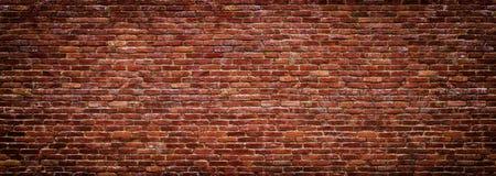 Панорамный взгляд masonry, кирпичной стены как предпосылка стоковые фотографии rf