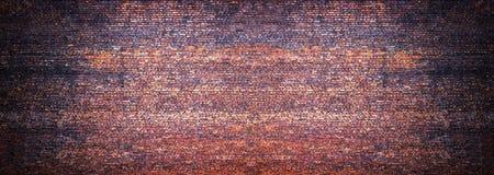 Панорамный взгляд masonry, кирпичной стены как предпосылка стоковое изображение rf