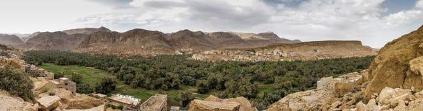 Панорамный взгляд Ouarzazate, Марокко стоковое фото rf