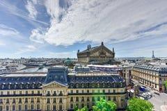панорамный взгляд paris Стоковая Фотография