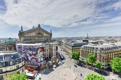 панорамный взгляд paris Стоковое Изображение RF