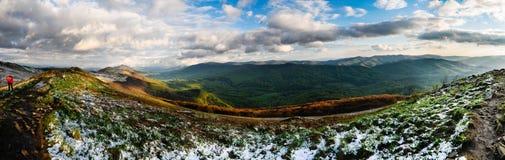 Панорамный взгляд - Tatras Стоковые Изображения