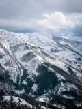 Панорамный взгляд Tatry Nizne Стоковые Фото