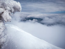 Панорамный взгляд Tatry Nizne Стоковое фото RF