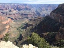 Панорамный вид гранд-каньона, Аризоны стоковая фотография