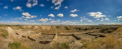 Панорамный вид от Gordium, столицы старой фригии стоковые изображения rf