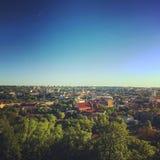 Панорамный вид Oldtown стоковые фотографии rf